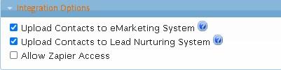 LeadMaster - Logon Privileges - Integration Options